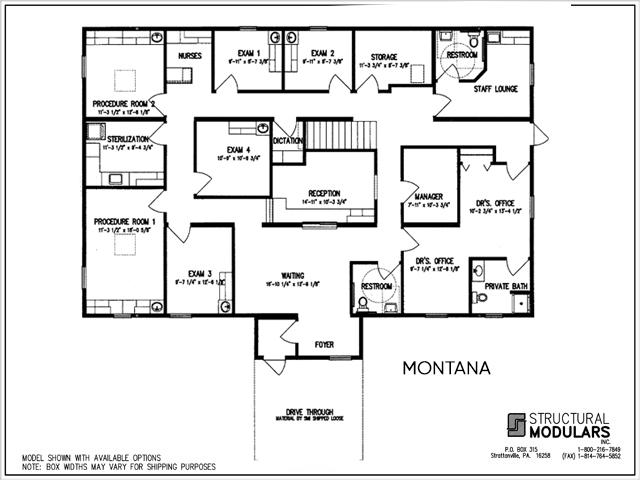 Montana Floor Plans