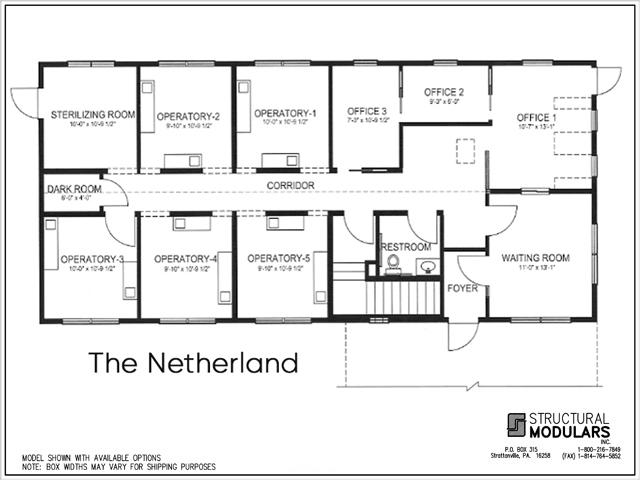 Netherland Floor Plans