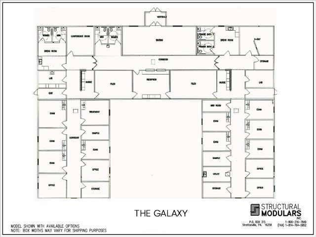 Galaxy Floor Plans
