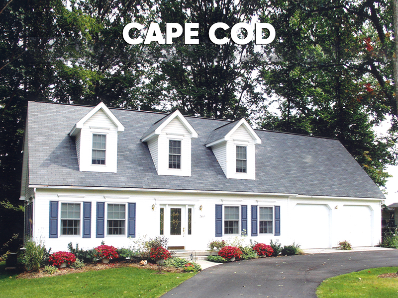 SMI Cape Cod Floor Plans